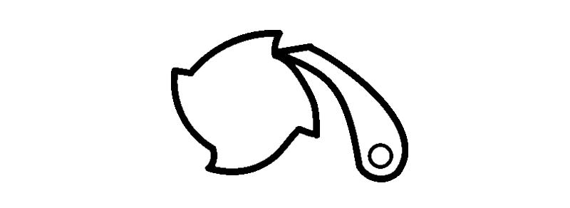Symbool teruglooprem